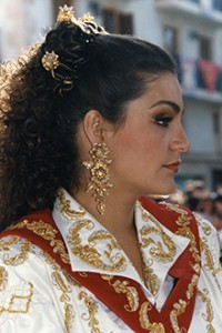1998 1999 Amazona Mayor Yolanda Molina Sánchez
